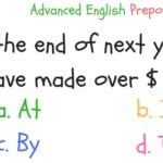 English Preposition Quiz 3