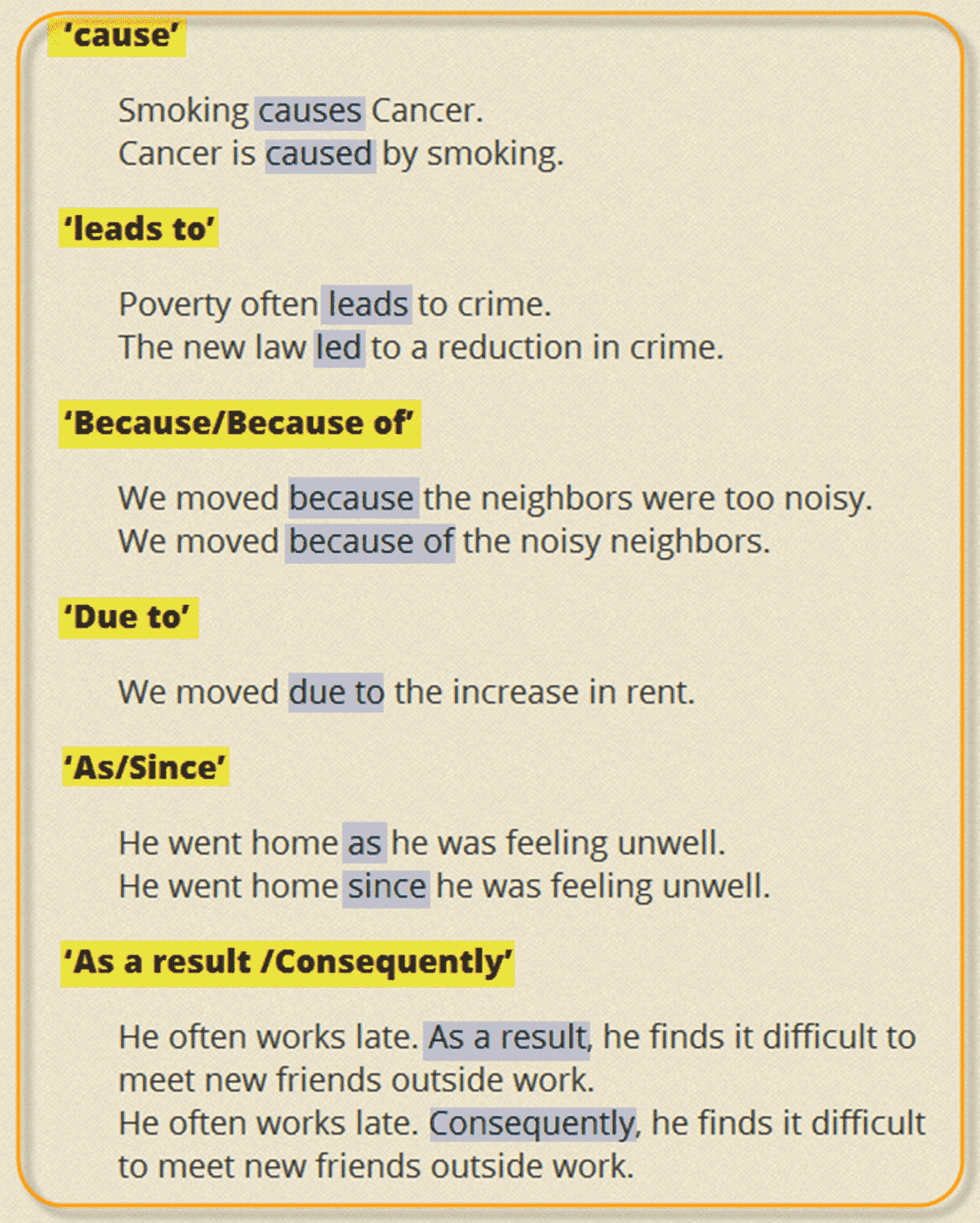 Useful Linking Words and Phrases