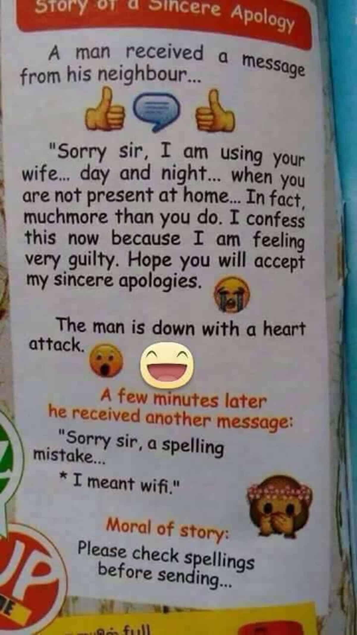 Wife vs. Wifi