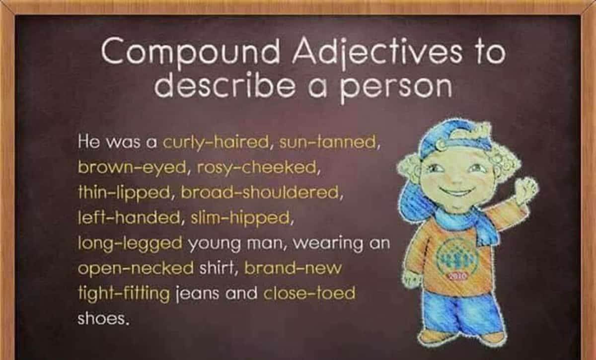 Compound Adjectives to Describe a Person