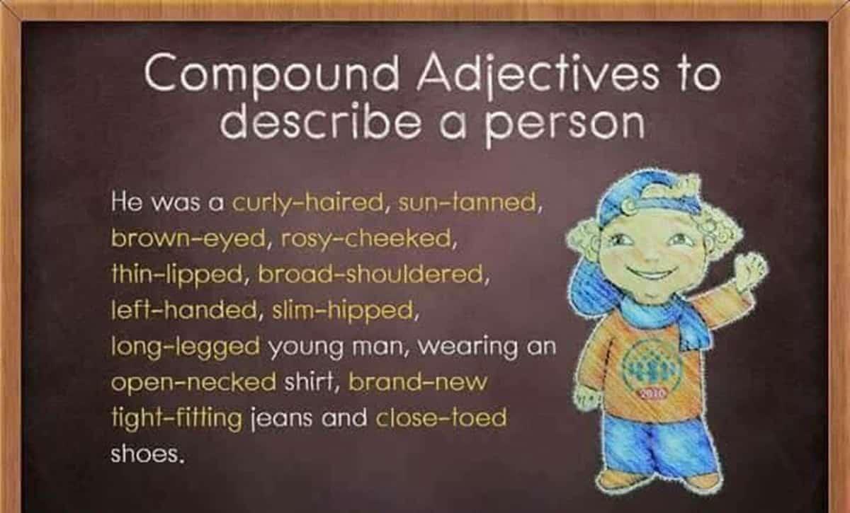 Compound Adjectives to Describe a Person