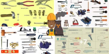 Tools and Equipment Vocabulary: 150+ Items Illustrated 6
