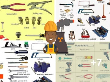 Tools and Equipment Vocabulary: 150+ Items Illustrated 24