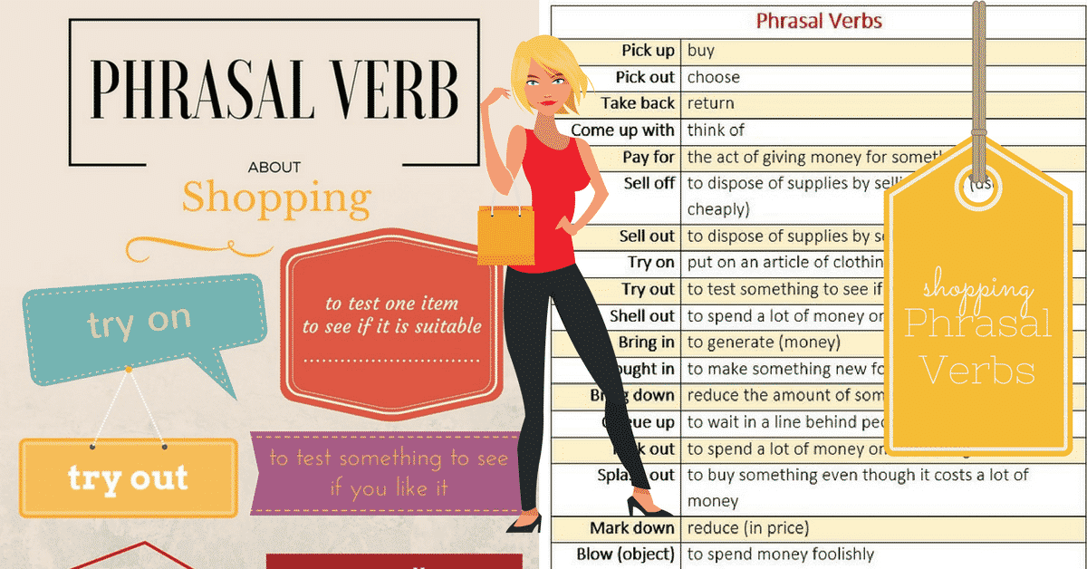 Commonly Used English Phrasal Verbs for Shopping 1