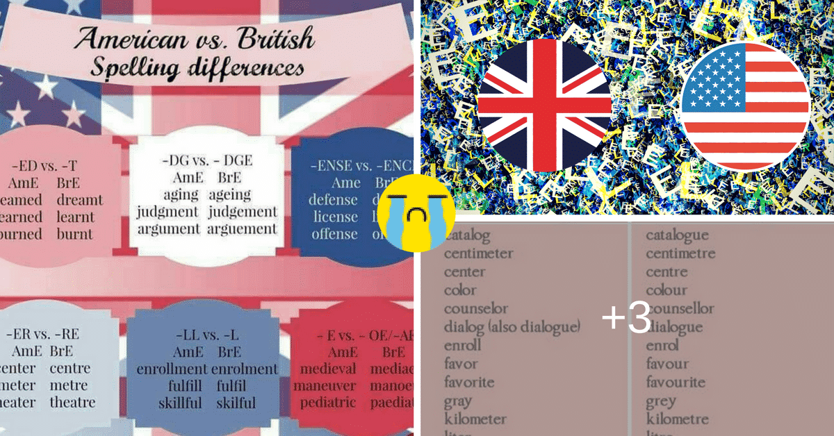 Important American and British Spelling Differences You Should Know