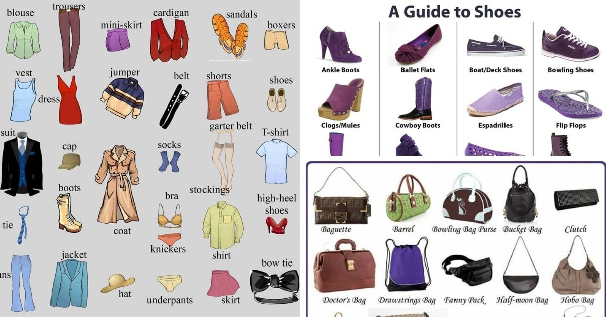 Clothes and Accessories Vocabulary 10