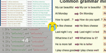 50+ Most Common Mistakes of ESL Students 3