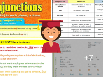 Conjunctions in English: Grammar Rules and Examples 14