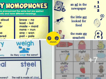 Homophones: the Most Confusing Words in English (a List with Meanings and Examples) 14