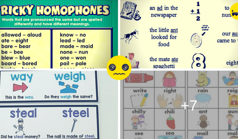 Homophones: the Most Confusing Words in English (a List with Meanings and Examples)