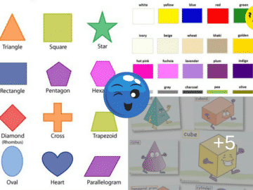 Learn English Vocabulary Through Pictures: Shapes and Colors 14