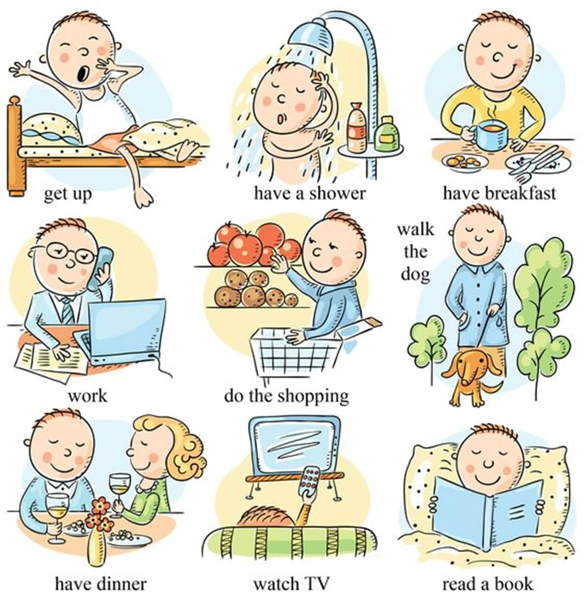 Useful English Phrases to Describe Your Daily Routines 15