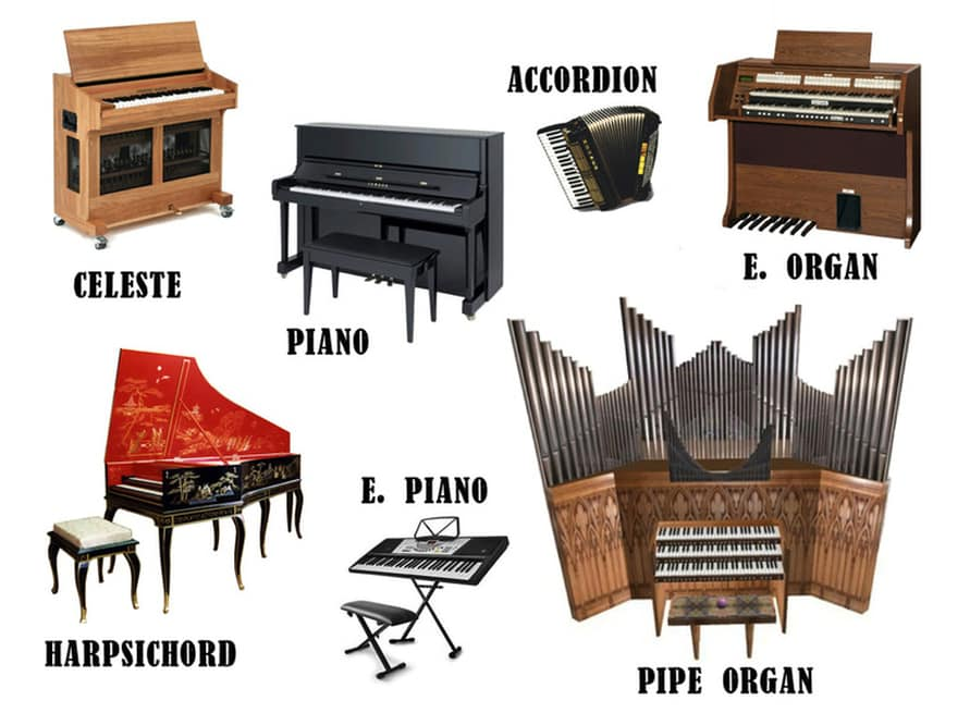 Learn English Vocabulary through Pictures: Musical Instruments 10