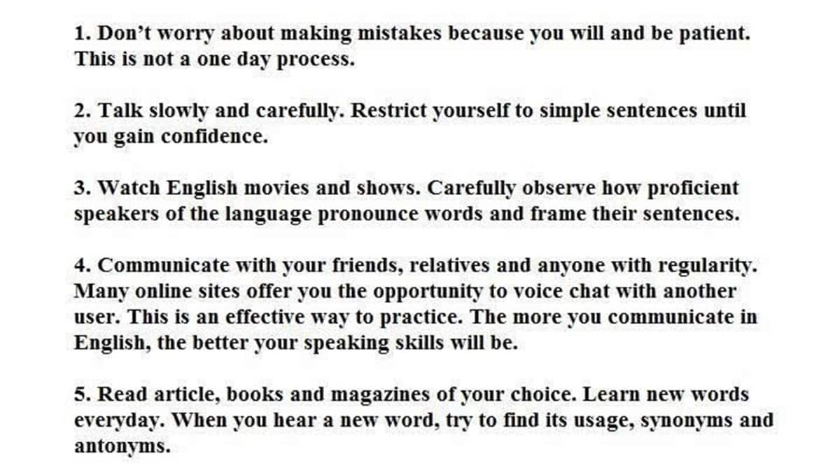 How to Speak English Well: 10 Simple Tips for Improving your Spoken English