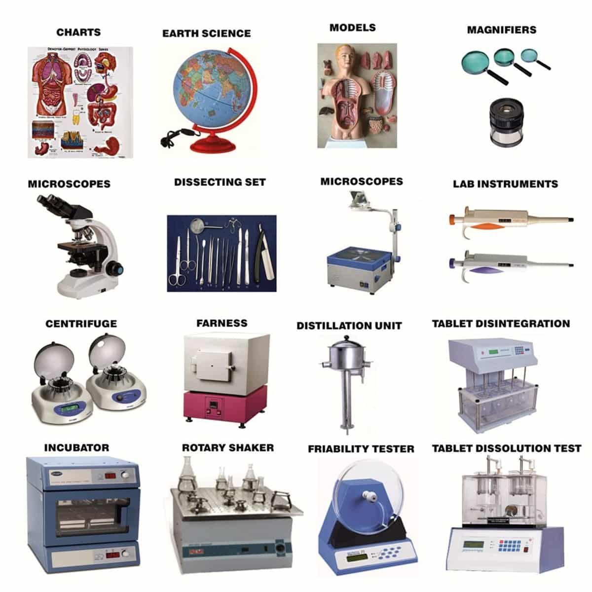 English Vocabulary: Laboratory Equipment and Scientific Instruments 3