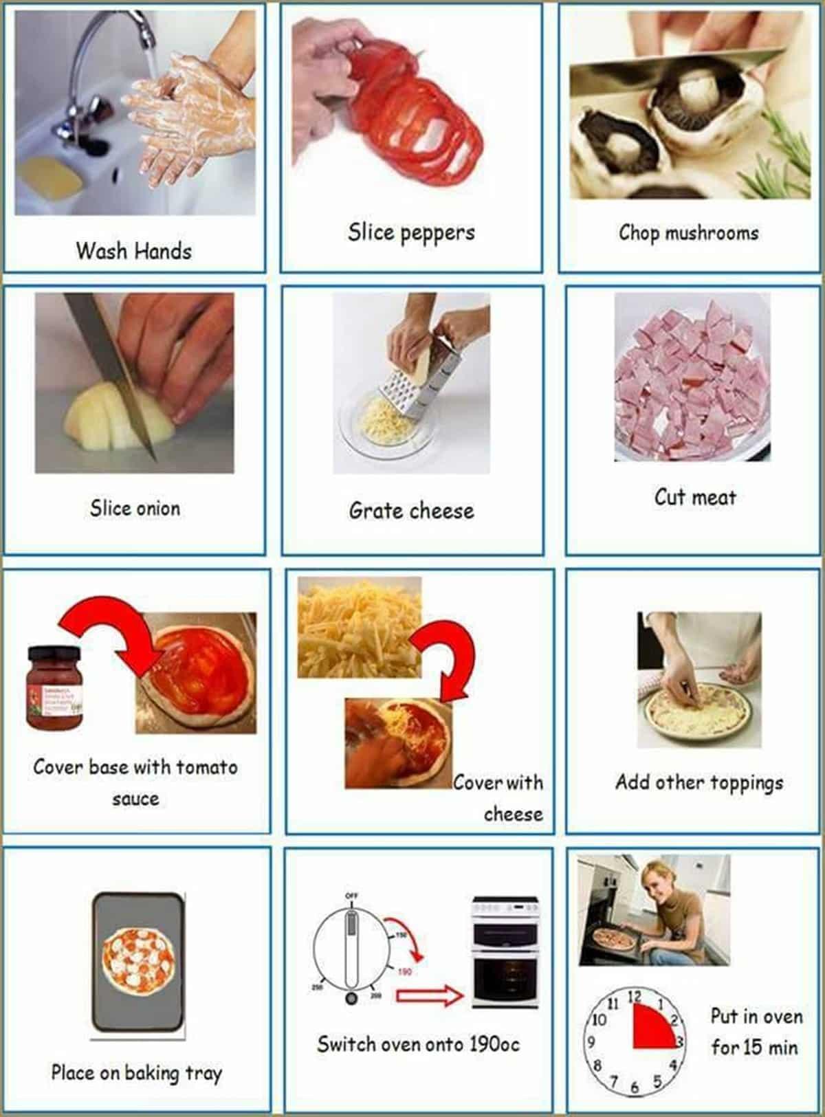 Useful Cooking Verbs in English 14