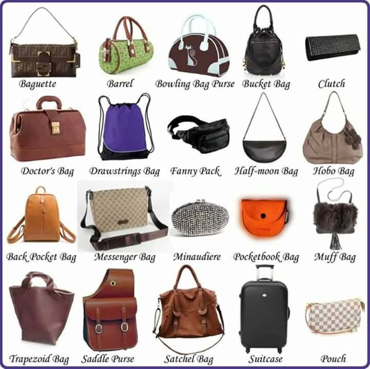 Fashion Accessories Vocabulary in English 4
