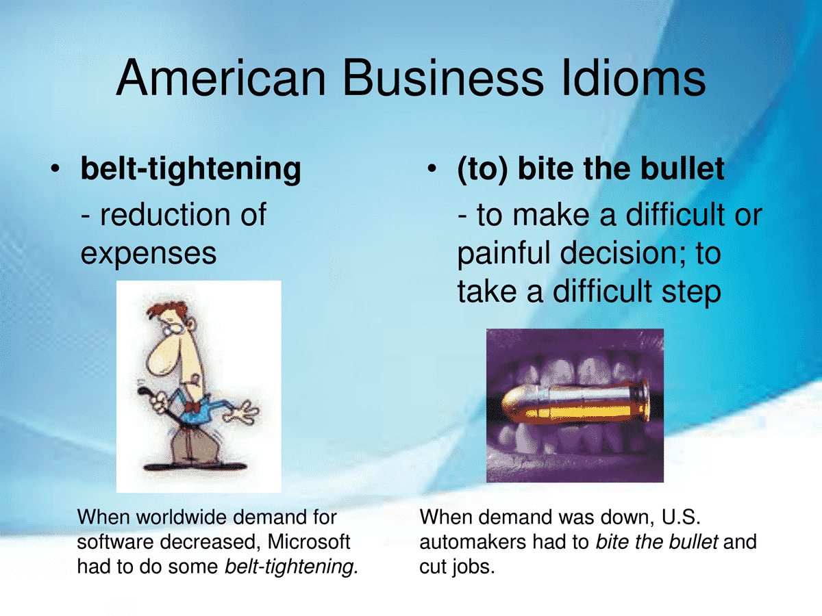40 Business Idioms Commonly Used in the American Workplace 23