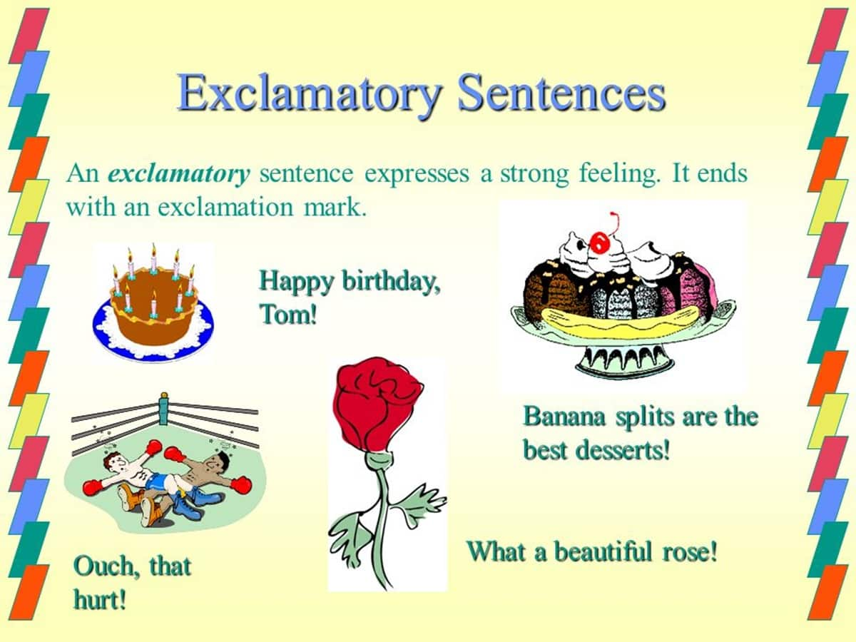 Exclamatory Sentence in English