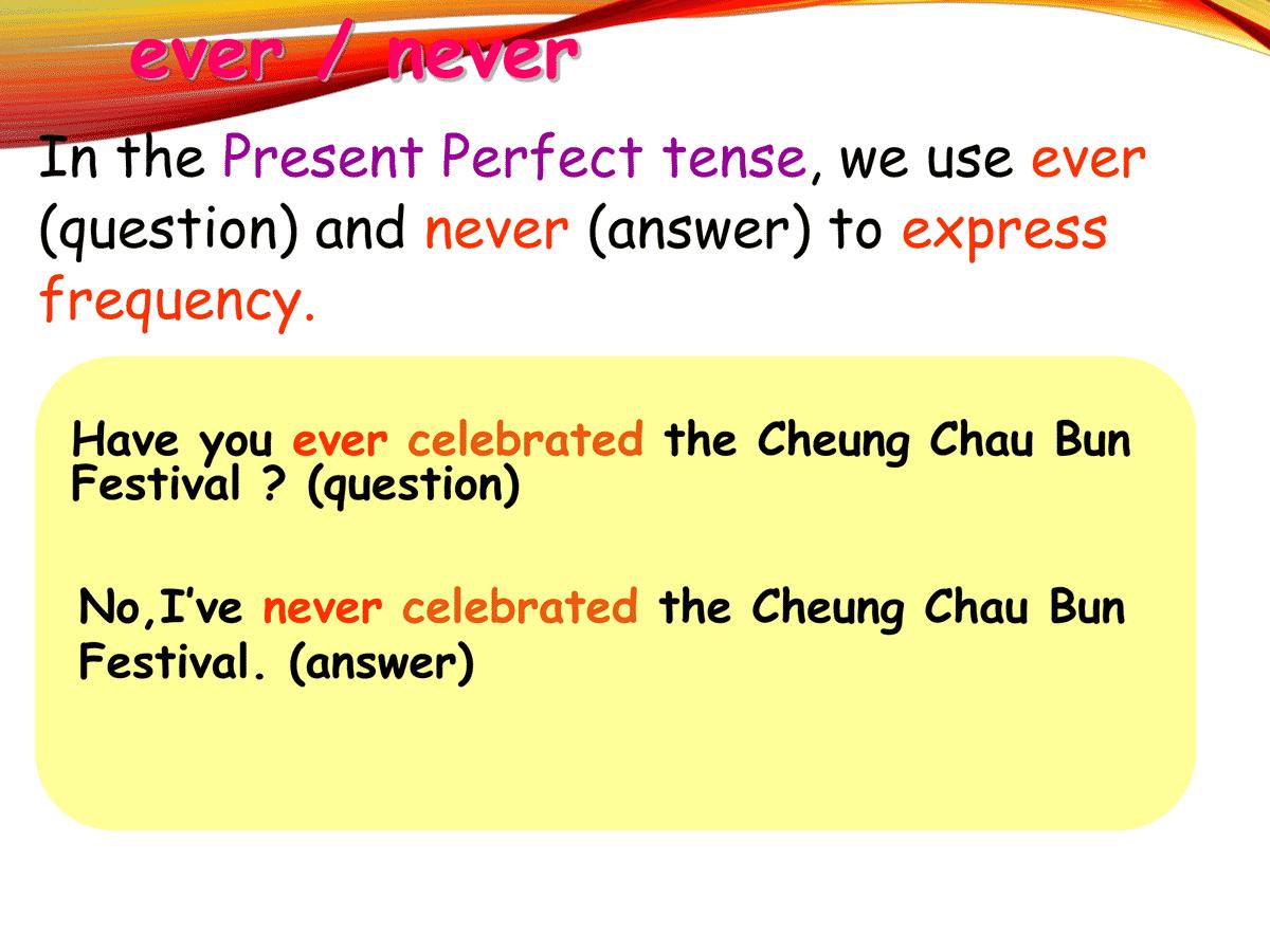 ever/ never
