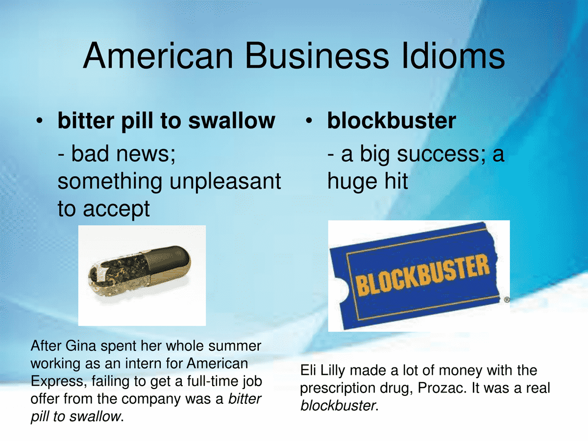 40 Business Idioms Commonly Used in the American Workplace 14