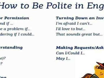 How to Be More Polite in English! ;) 14