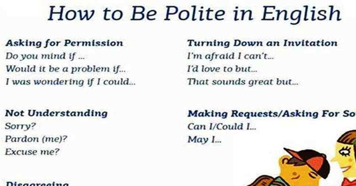 How to Be More Polite in English! ;) 7