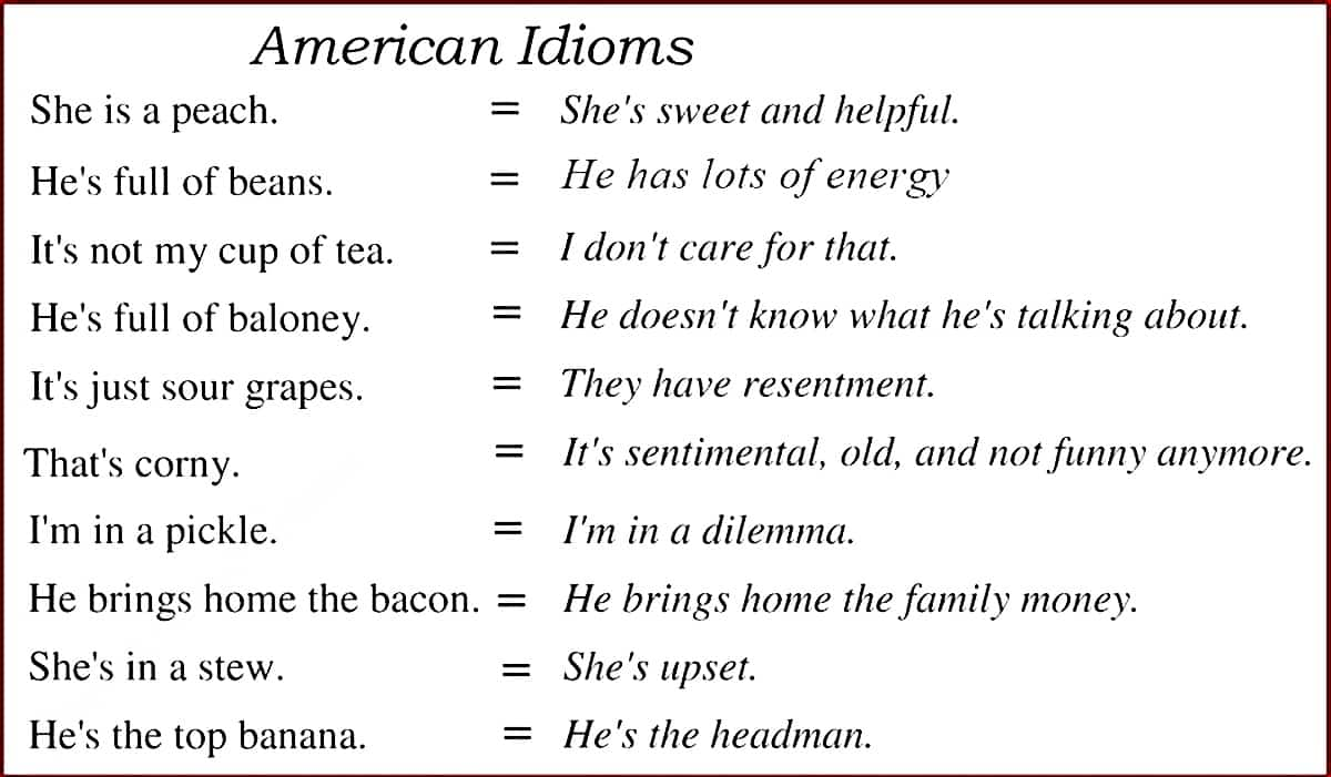 30+ Common American Idioms You Need to Know