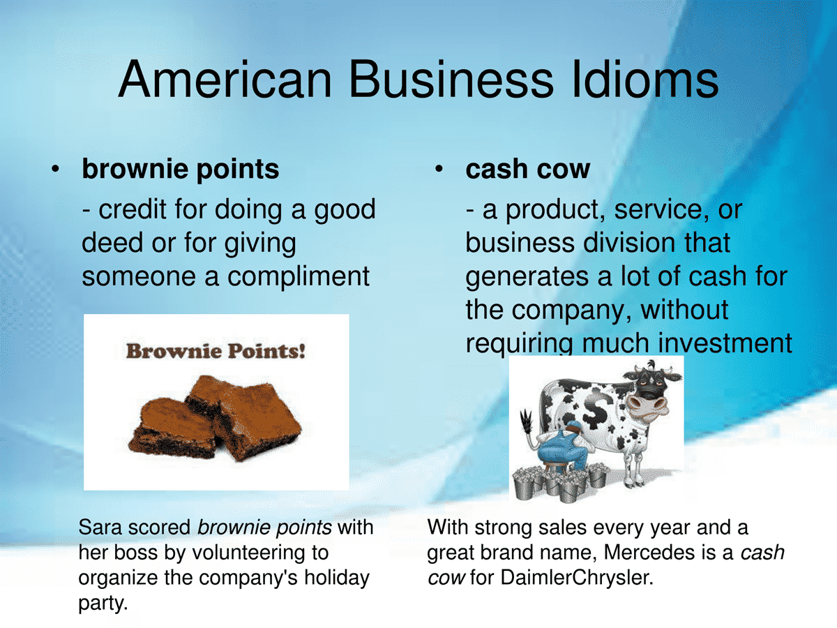 40 Business Idioms Commonly Used in the American Workplace 2