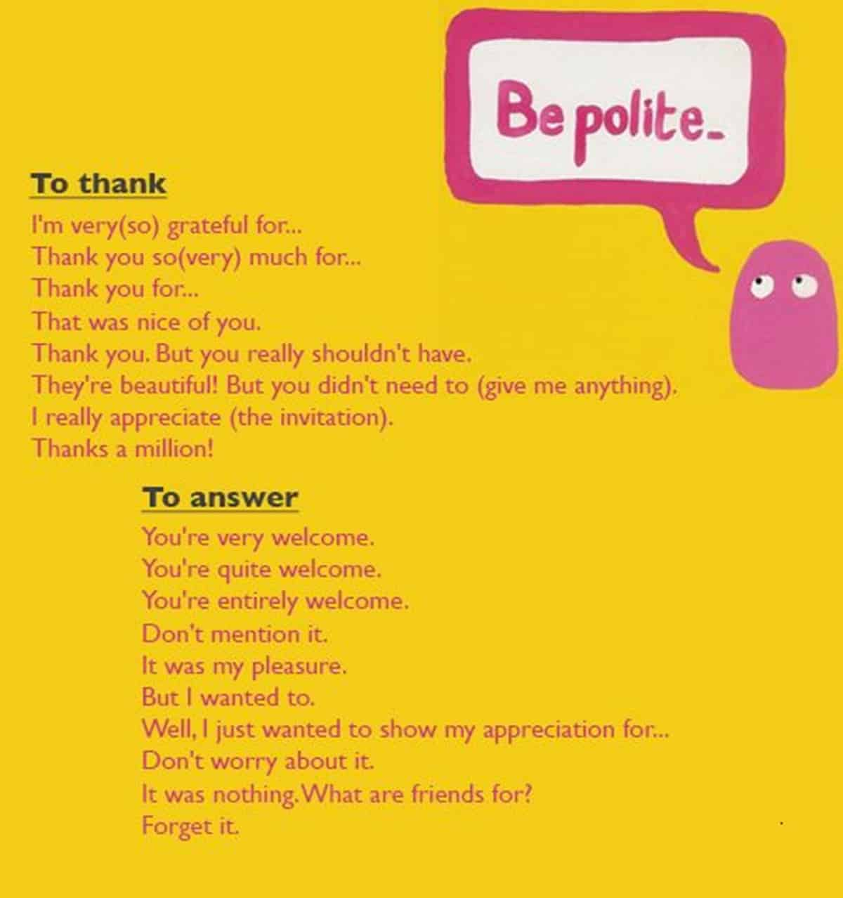 30+ Delightful Ways to Say THANK YOU in English 15