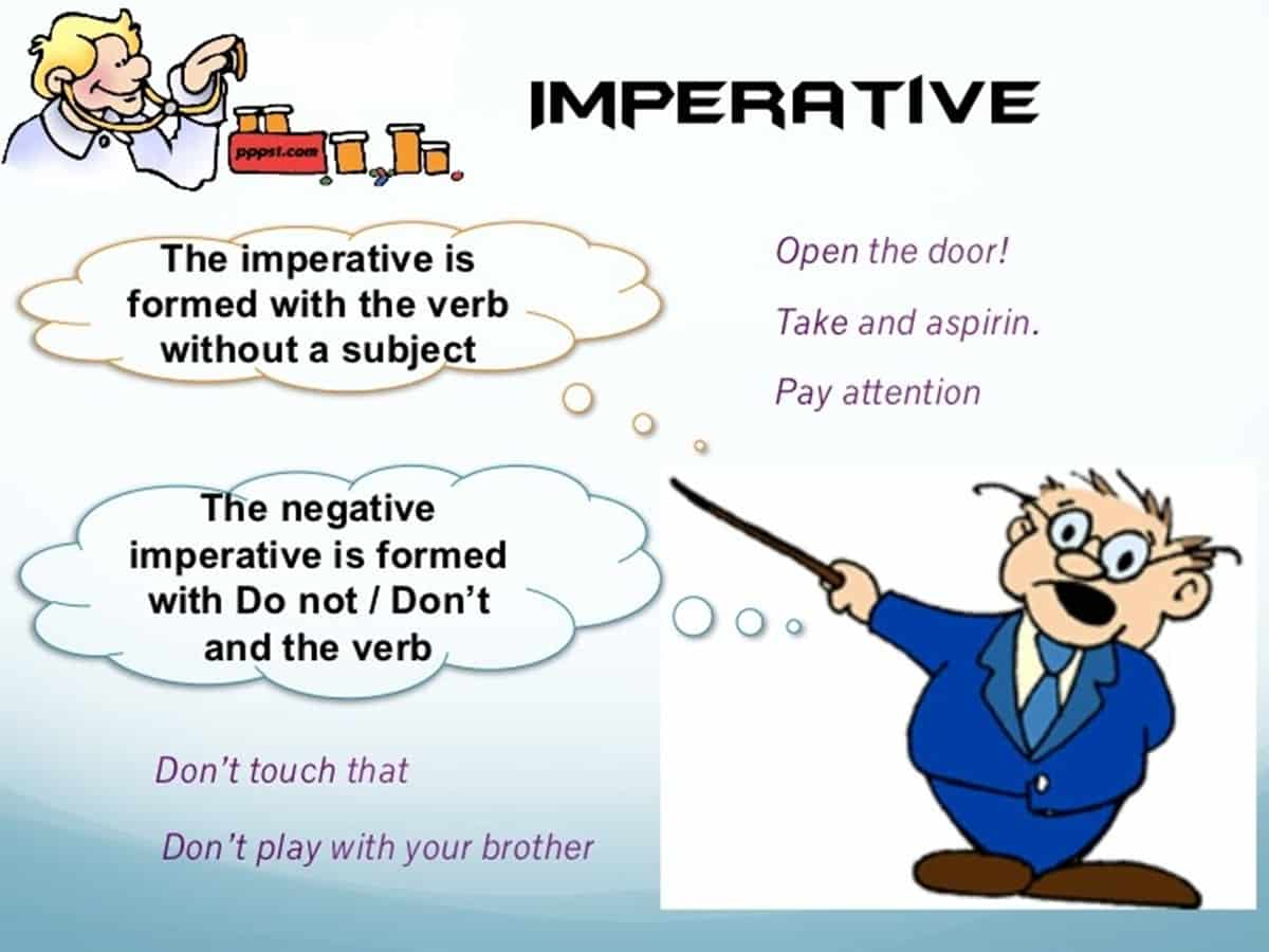 Imperative Sentence in English
