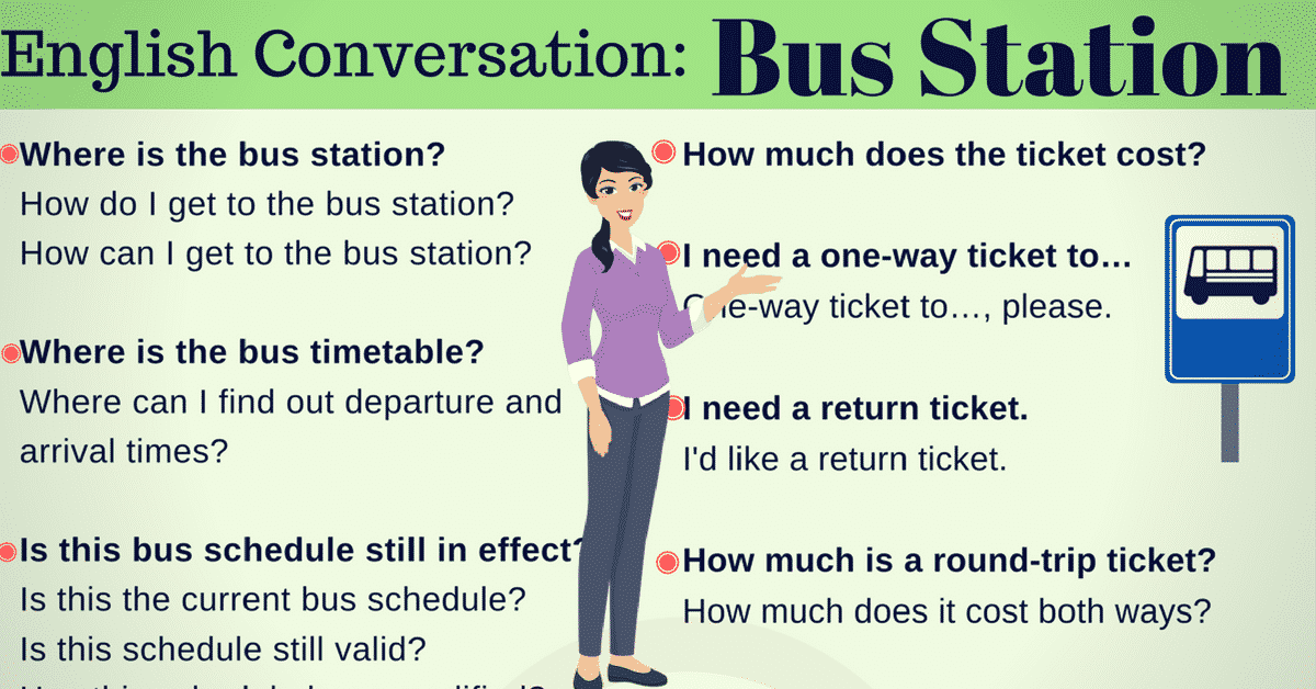 Easy Conversations about Transportation For ESL Students 10