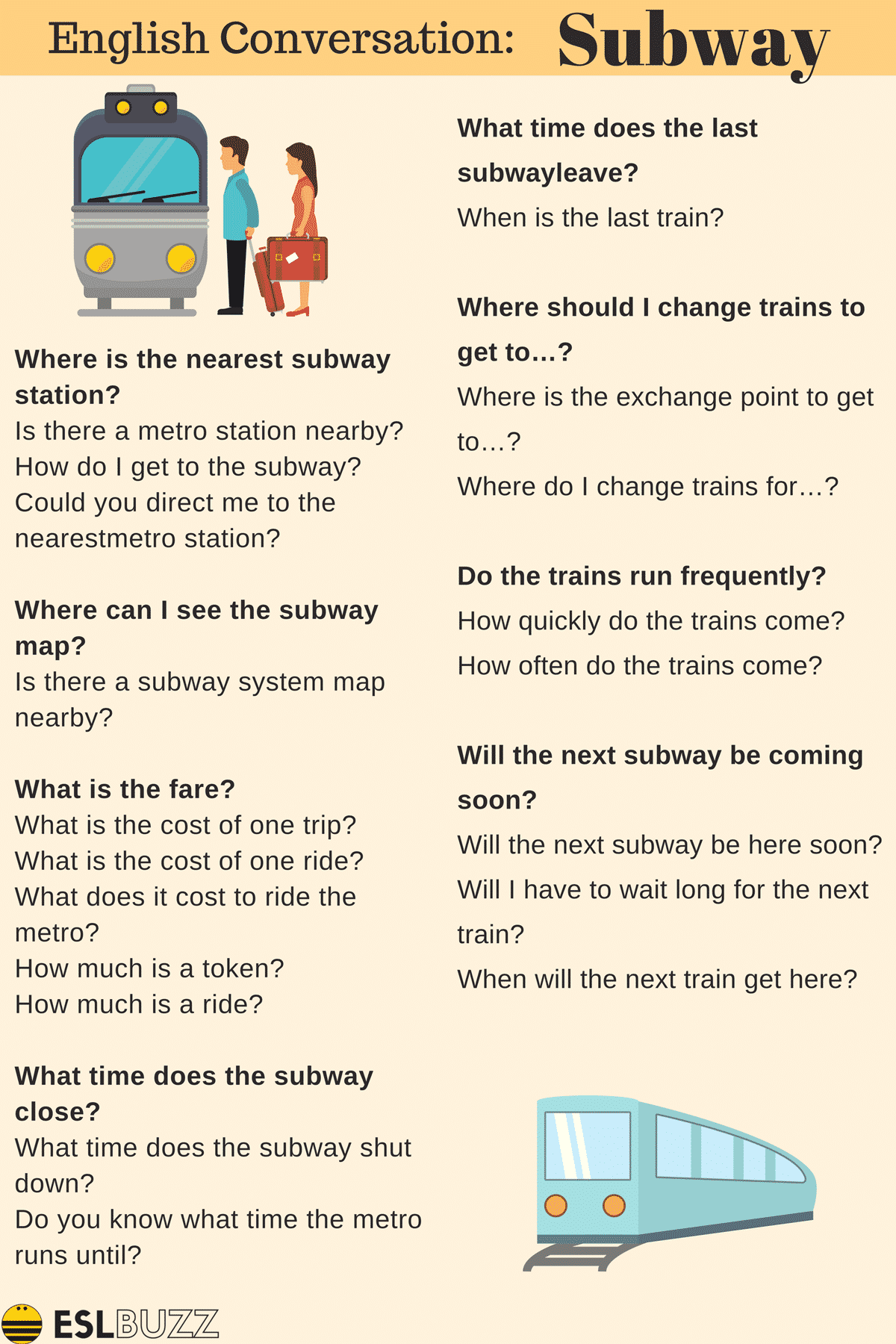 Conversations about Transportation