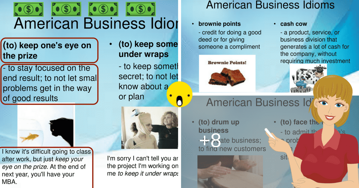 40 Useful Business Idioms Used in the American Workplace 9