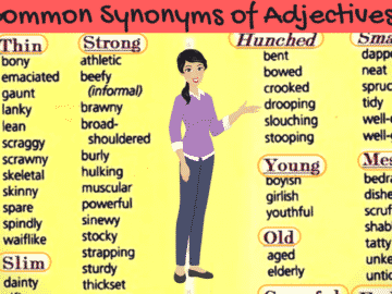 Synonyms for the Most Commonly Used Adjectives in English (With Examples) 21