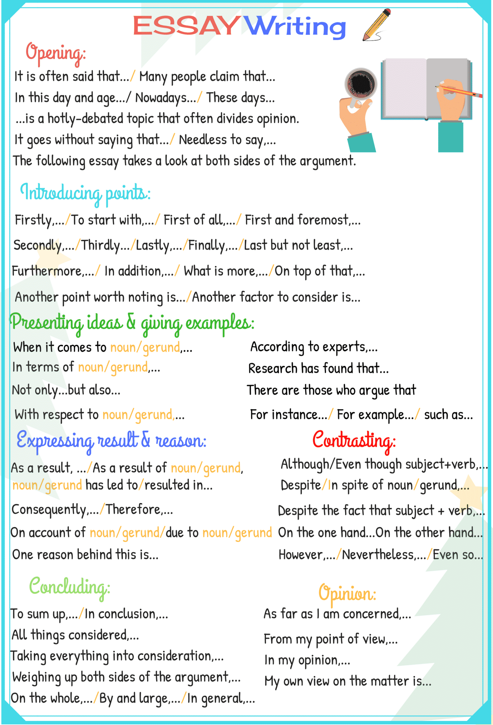 How to Write a Great Essay Quickly!