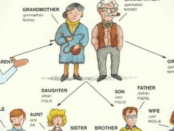 English Vocabulary: Members of the Family 18