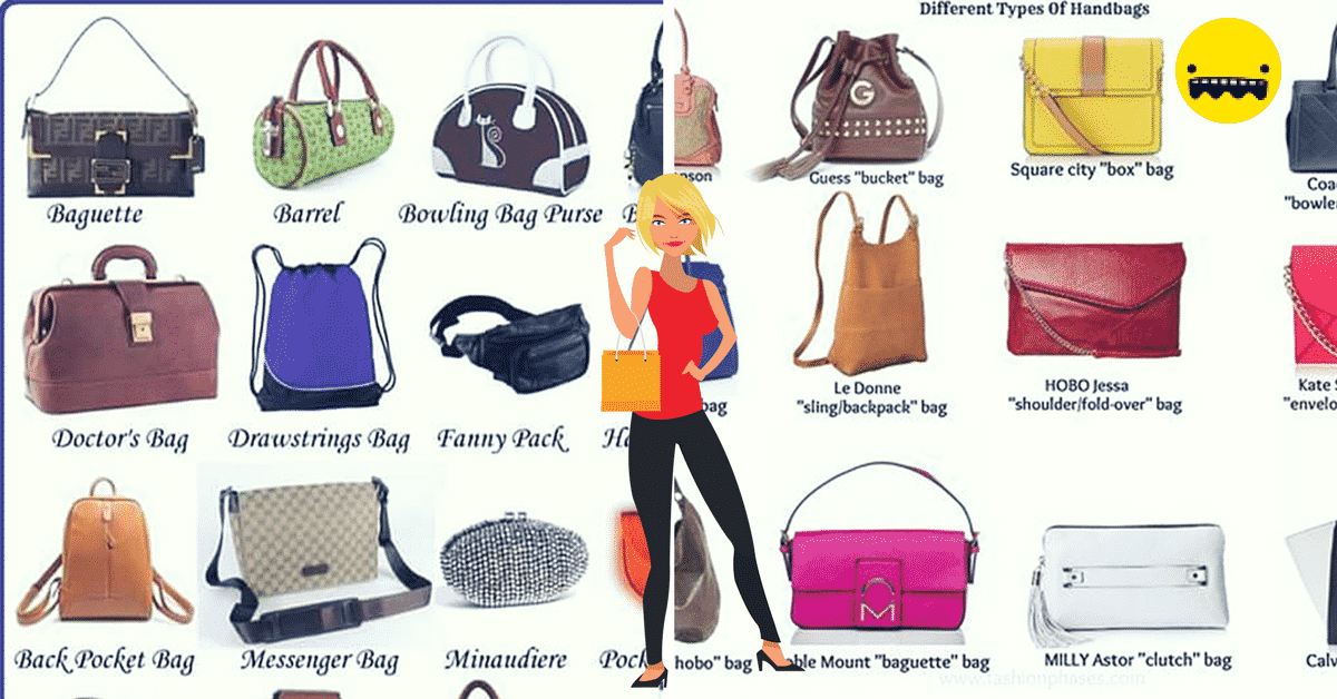 Different Types of Handbags in English 13