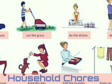Talking about household chores in English 17