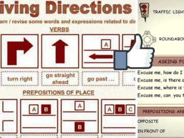 Useful Expressions for Asking and Giving Directions in English 14