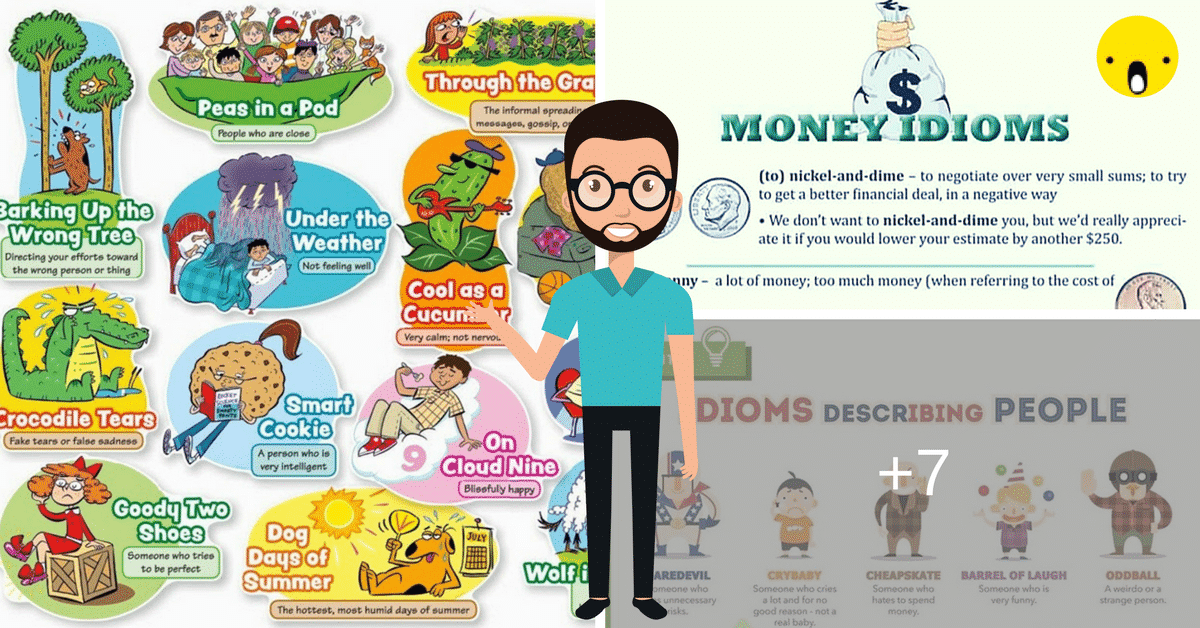 50+ Most Frequently Used English Idioms 13