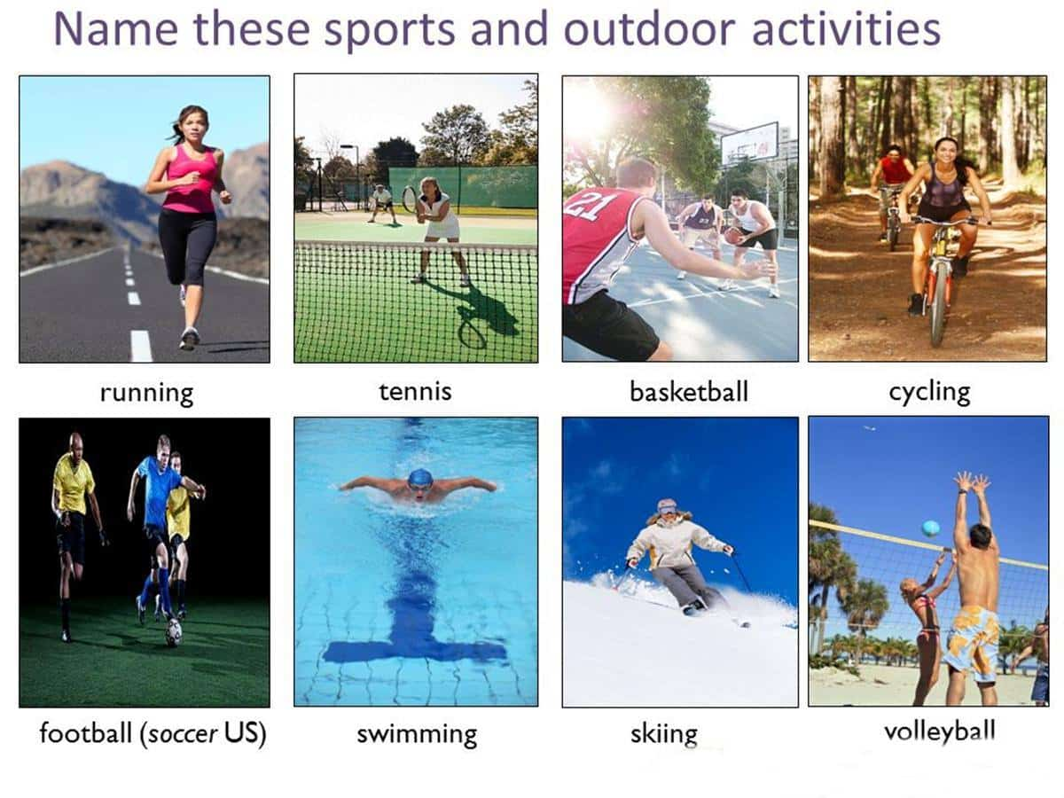 Outdoor Activities Vocabulary in English 15