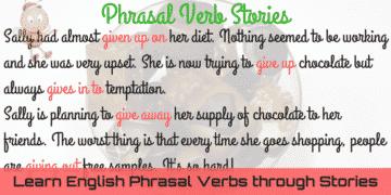 Learn English Phrasal Verbs through Stories 3