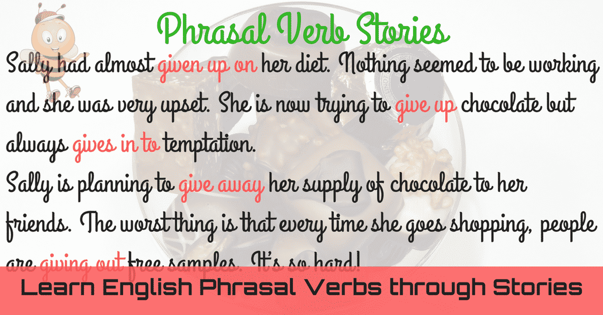 Learn English Phrasal Verbs through Stories 4