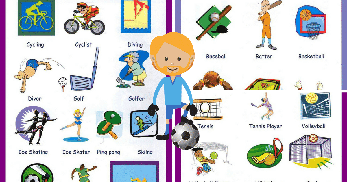 Sports Vocabulary for English Learners 6