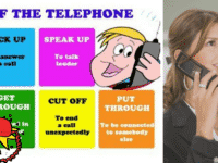 Useful Vocabulary and Phrasal Verbs for English Telephone Conversations 34