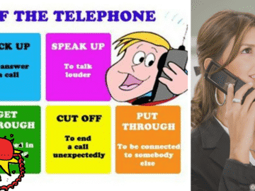 Useful Vocabulary and Phrasal Verbs for English Telephone Conversations 14