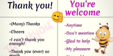 Other Ways to Say Thank You, You're Welcome, I'm Sorry... 12