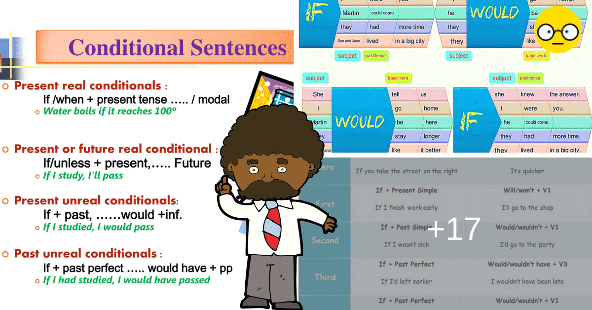 The Four Types of Conditionals in English 2