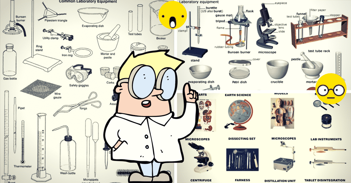 English Vocabulary: Laboratory Equipment and Scientific Instruments 26